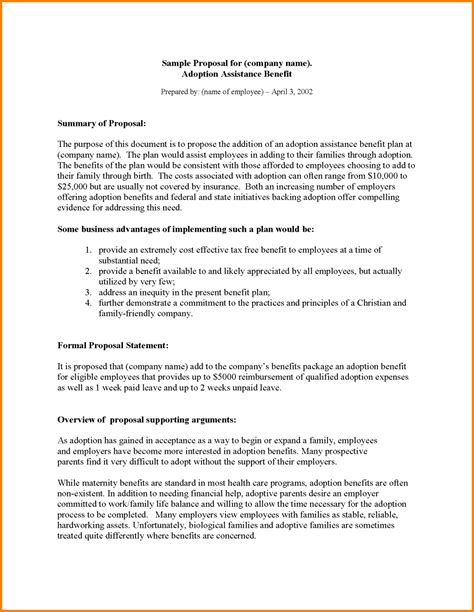 Business Plan Resume by Business Proposition Template Printable Resume Free