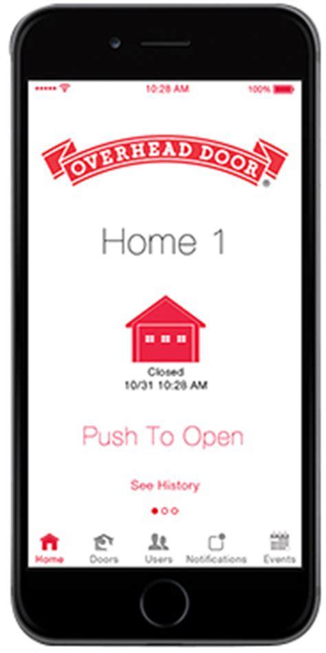 garage door opener with app ohd anywhere garage door opener app