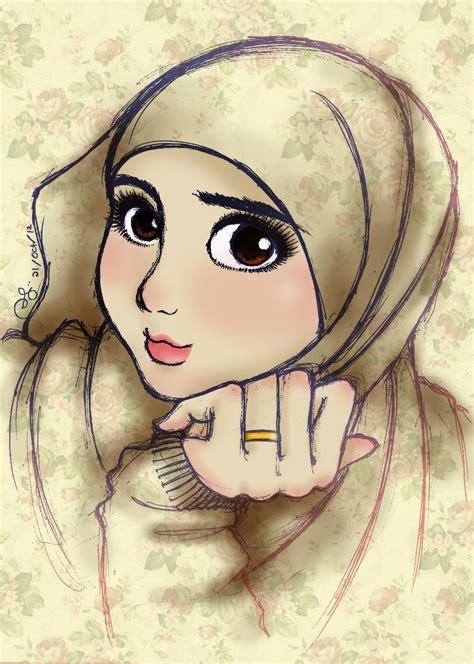hijab  hijab girl sketch