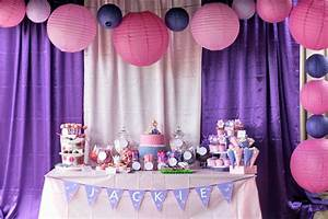 Pink and Purple Birthday Party Ideas | Photo 2 of 23 ...