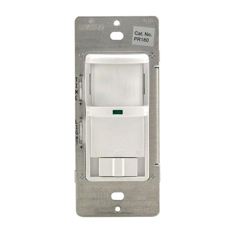 leviton occupancy sensor wiring diagram