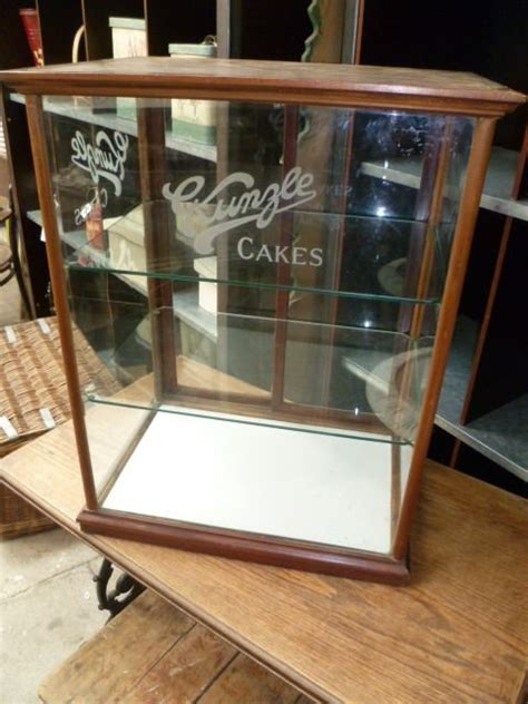 vintage shop display cabinets antique kunzle cakes shop display cabinet 162059 6863