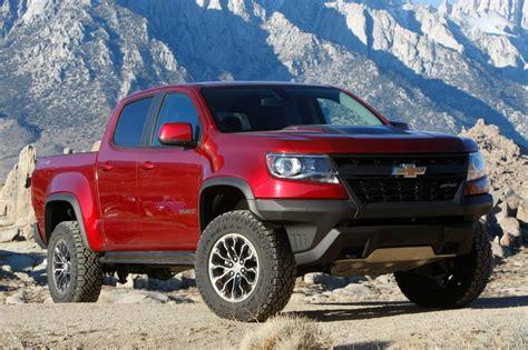 Four Wheeler Names 2018 Chevrolet Colorado Zr2 Pickup