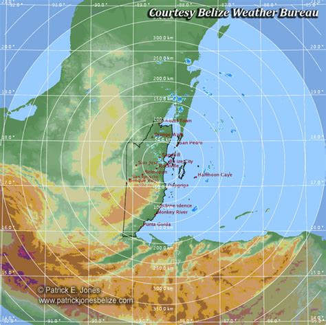 bureau weather weather conditions improving belize belize and