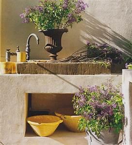 Außenwaschbecken Garten Waschbecken : idee f r aussensp le italien garten garten blumen und aussen ~ Eleganceandgraceweddings.com Haus und Dekorationen
