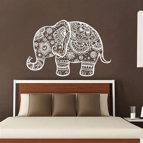 elephant wall decal ideas  pinterest elephant
