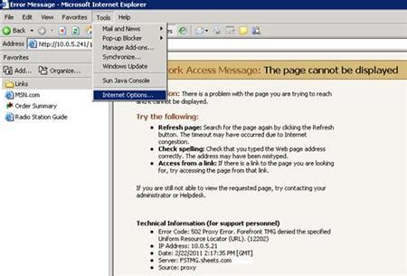 how to bypass proxy server to access local web page 171 knowledge