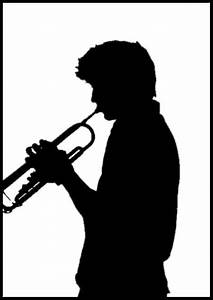 Trumpet Silhouette - ClipArt Best