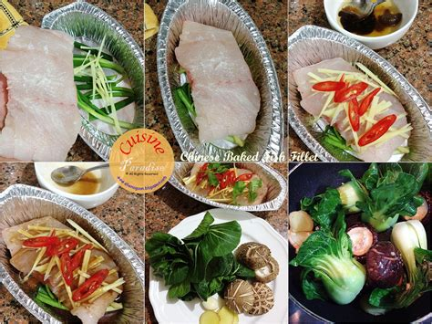 fish fillet baked cheesy fishy dinner chinese salmon wasabi ingredients singapore