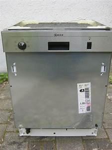 Teilintegrierbare neff spulmaschine in fellbach for Neff spülmaschine