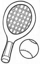 Coloring Racket Colorear Raquetas Dibujos Pintar Infantiles sketch template