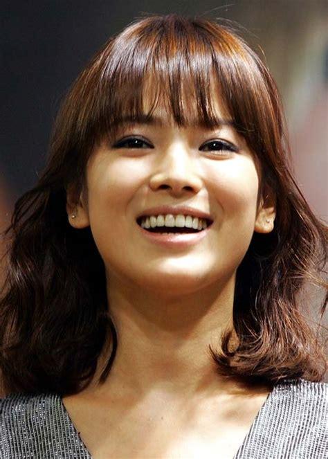 gaya rambut korea   dicoba  wanita