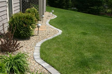 landscape tile lawn edging paver edging home pinterest gardens paver edging and house