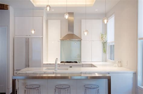 contemporary pendant lighting kitchen modern with