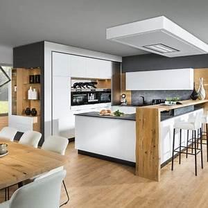 Barhocker Mit Tisch : designwohnk che mit bar und barhocker p max massm bel ~ Watch28wear.com Haus und Dekorationen