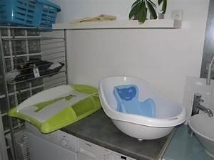 Plan A Langer Pour Baignoire : la salle de bain amenagee pour bebe rere et wawann accouchement pr vu le 7 septembre 2010 ~ Teatrodelosmanantiales.com Idées de Décoration