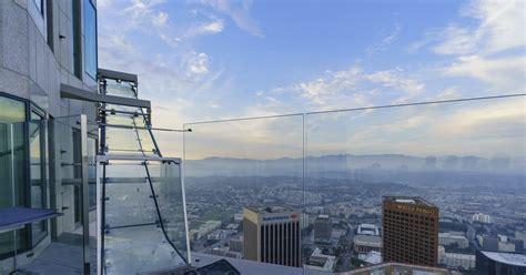 bank towers skyslide   video    glass