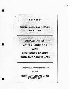 Chamber Of Commerce Voter Pamphlet