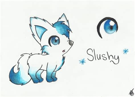Cute Wolf Drawing At Getdrawings.com