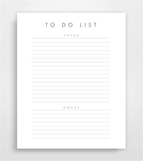 theminimalist template planner download planner printable daily planner to do