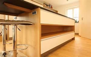 Weiße Arbeitsplatte Küche : beer k chen manufaktur wei e k che mit eiche ~ Sanjose-hotels-ca.com Haus und Dekorationen