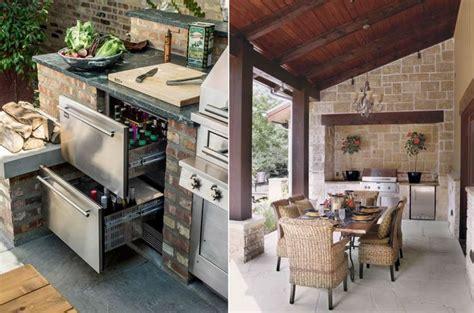 cucine da terrazzo angolo cottura in muratura da esterno pc76 187 regardsdefemmes