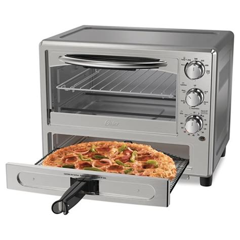 countertop pizza oven oster 174 pizza toaster oven tssttvpzda target