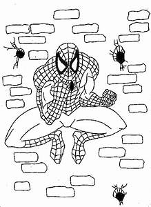 coloring pages kids spiderman super hero kentscraft With tt2011 sidecars