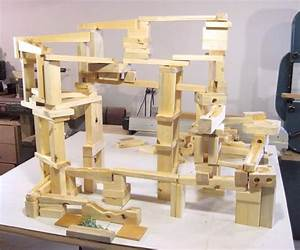 Building the marble run blocks