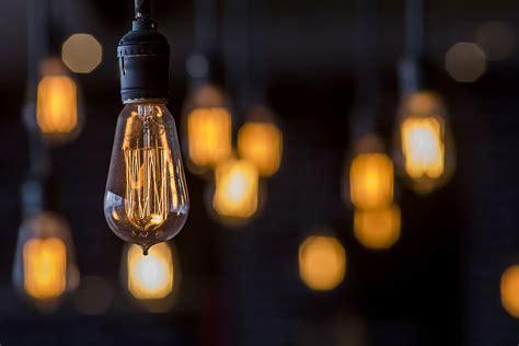 incandescent light bulbs hanging bulb wallpaper wall decor