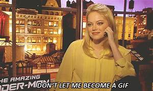 Emma Stone Is Really Cool About Being Turned Into A .Gif