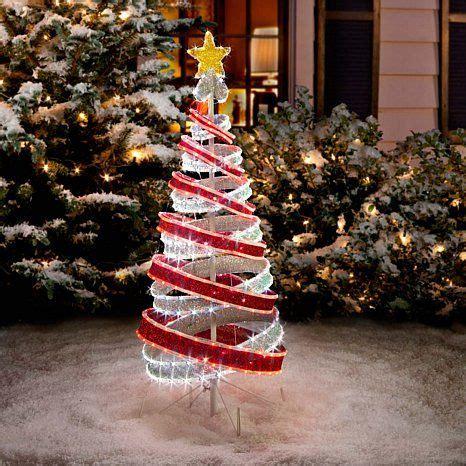 tube light spiral christmas tree christmas pinterest