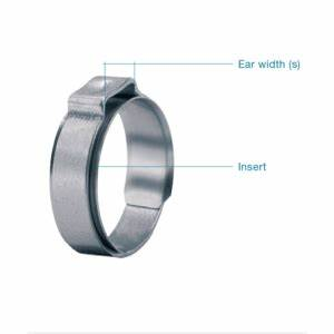 Oetiker 15400032 Hose Clamp Ss Size 13 8rer Pk100