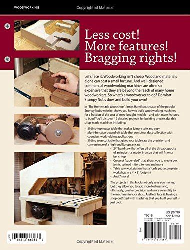 cuisine f騅rier the workshop build your own woodworking machines and jigs hardware tool accessories