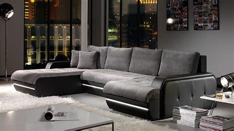 canapé d angle gris et noir canape design d angle maison design wiblia com