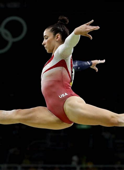pin    seconds  aly raisman showing