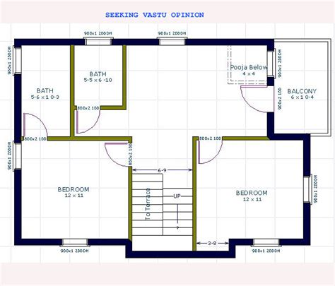 3 bed bungalow floor seeking vastu opinion before you buy home office or