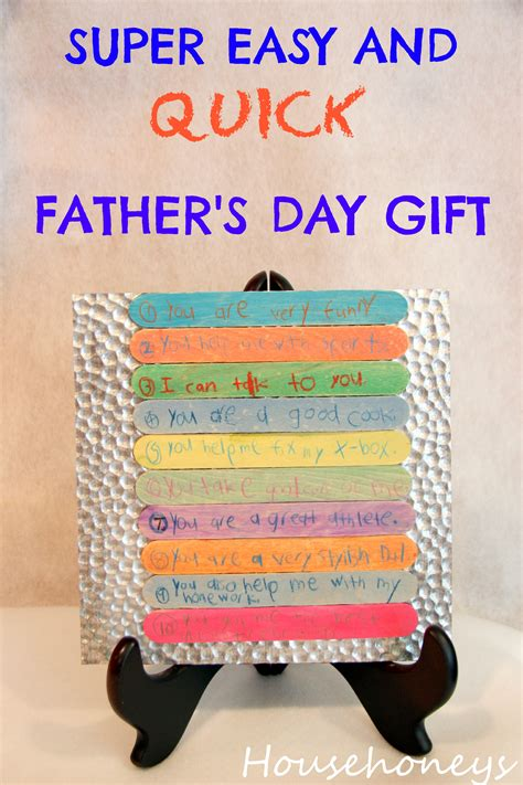 fathers day gifts easy father s day gift househoneys com