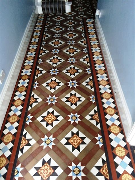 Victorian Tiled Hallway Restoration in Chippenham