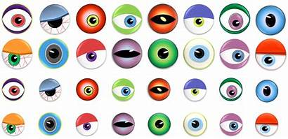 Eyes Monster Clipart Halloween Clip Nose Eye