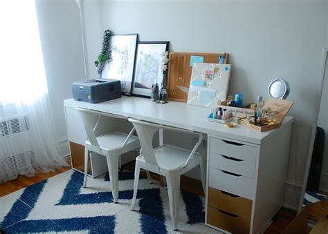 white makeup desk ikea white makeup vanity and storage features ikea linnmon and