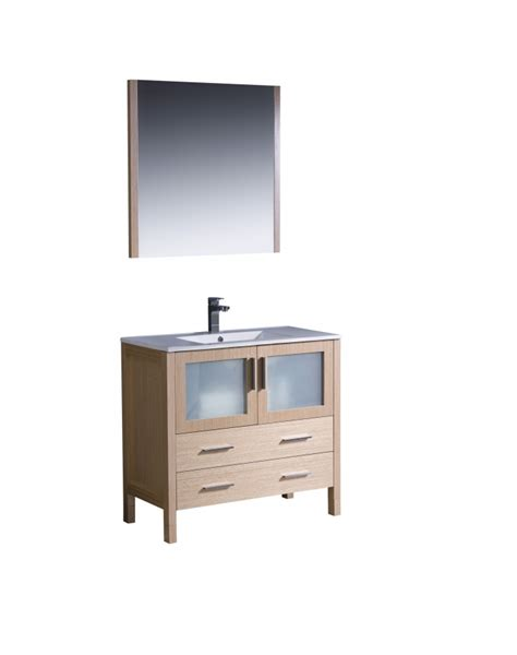 single sink bathroom vanity  light oak