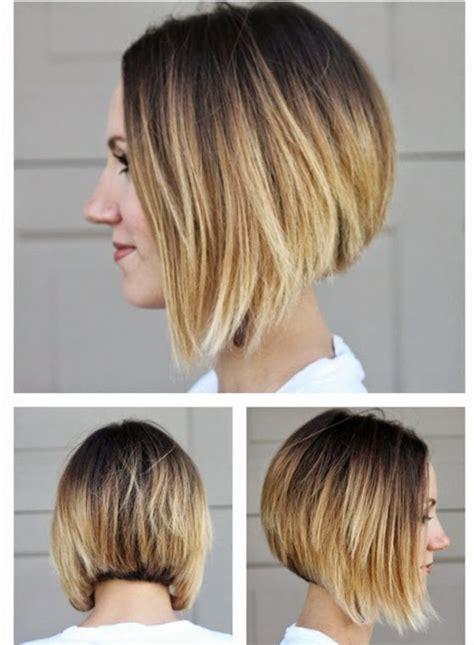 pretty angled short bob haircuts   women styles beat