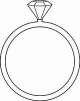 Ring Diamond Template sketch template