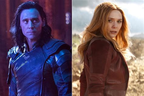Loki Scarlet Witch Other Marvel Characters To Reportedly