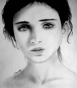 Sad Girl Face Drawing Beautiful Sad Girl Face Sketch ...