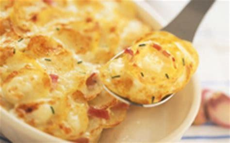 comment cuisiner les pommes de terre recette gratin de pommes de terre au chèvre boîte et au