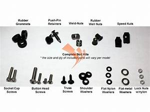 Easy Fairings 2003 999 Complete Fairing Bolt Kit    Bolts  Fasteners  U00ab Motorcycle