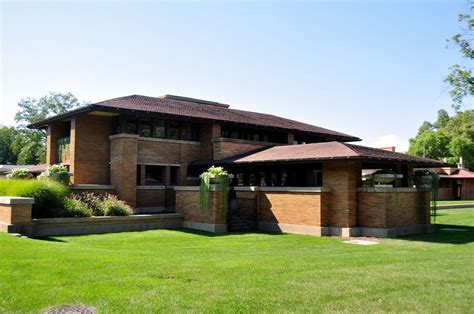 Prarie Style Homes by Frank Lloyd Wright S Darwin Martin House Architecture