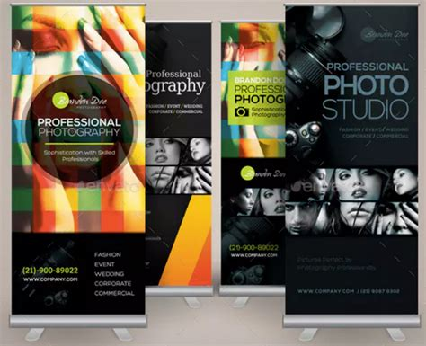 photography roll  banner templates ai word pages